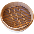 Bamboo Steamer No Lid 10