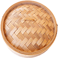 Bamboo Steamer Lid 10 inch