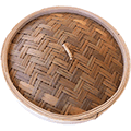 Bamboo Steamer Lid 12 inch