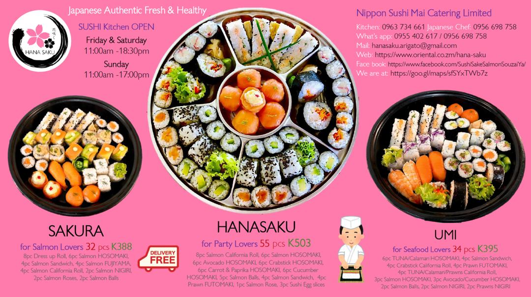 New Sushi Lovers Platters