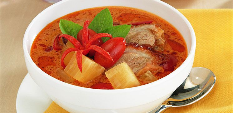 Roasted Duck in Thai Red Curry