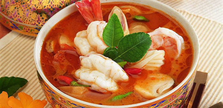 Thai Prawn Hot Soup